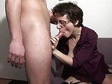 Horny French Mature – blowing, fisting, fucking