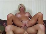 Blonde Jordan Blue with big tits gets cum into the vagina