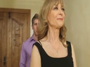 Nina Hartley on a date with young boy