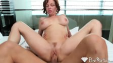 PureMature.com – Horny redhead just wants to fuck